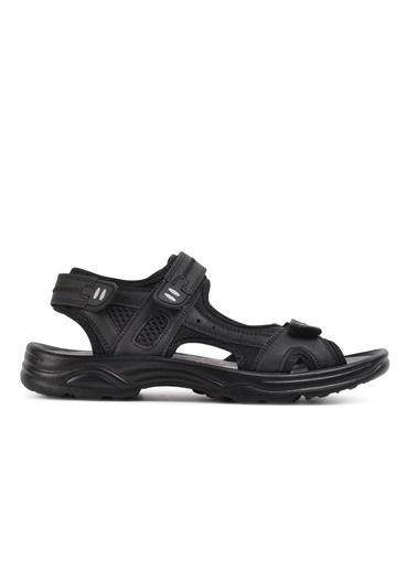 Castle Black K-2 Siyah Erkek Sandalet Siyah